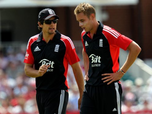 Alastair Cook (left) replaced Andrew Strauss as ODI captain, while Stuart Broad (right) succeeded Paul Collingwood as T20 skipper (David Davies/PA)