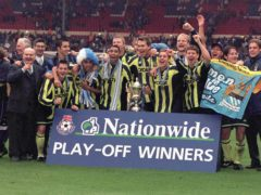 Champions League finalists Manchester City were playing in the Second Division play-off final in 1999 (Tony Harris/PA)