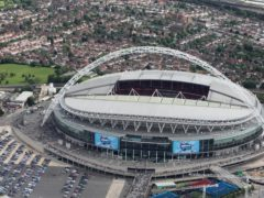 Wembley stadium could stage its eighth European Cup/Champions League final (Steve Parsons/PA)