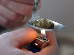 The Scottish Government's drug deaths taskforce has published 10 standards for treatment of addicts and problematic users (Paul Faith/PA)