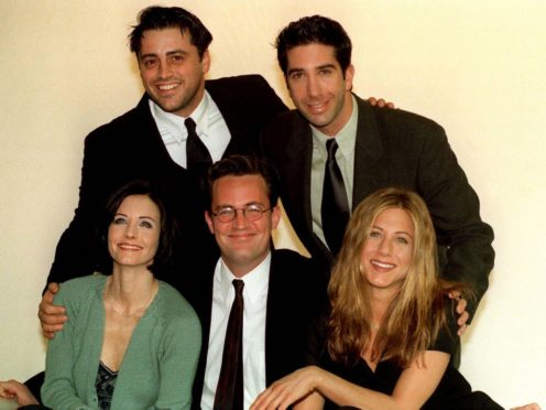 The stars of the American sitcom Friends (PA)