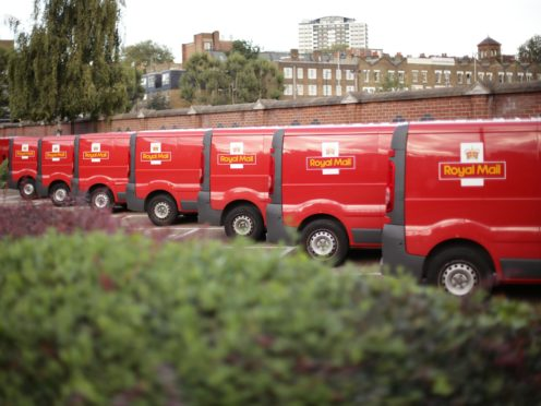 Royal Mail has enjoyed a boost in profits from Covid-19 (Yui Mok / PA)