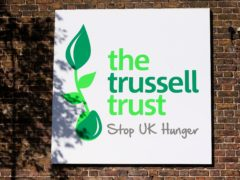 The Trussell Trust Brent Food Bank, Neasden, London (Jonathan Brady/PA)