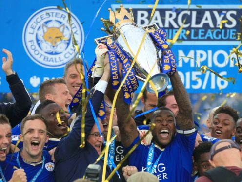 On this day in 2016, Leicester were crowned Premier League champions (Nick Potts/PA)