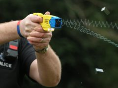 Up to 15% of Police Scotland could carry Tasers under the Chief Constable's plans (Gareth Fuller/PA)