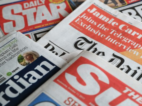 What the papers say – May 18 (PA)