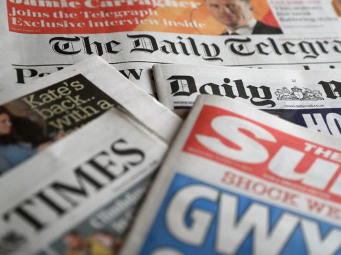 What the papers say – May 1 (PA)