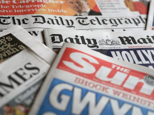What the papers say – May 31 (PA)