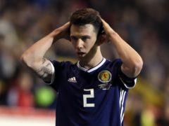 Scotland's Ryan Jack will miss the Euros through injury (Andrew Milligan/PA)
