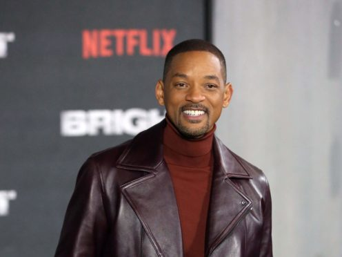 Will Smith (Isabel Infantes/PA)