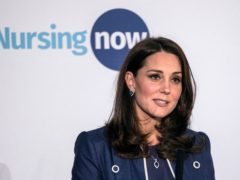 The Duchess of Cambridge has recorded a video message to mark the end of the Nursing Now campaign (Richard Pohle/The Times/PA)