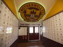 Motherwell have made their first summer signing (Jeff Holmes/PA)