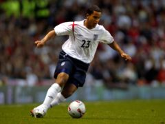 Theo Walcott made his senior England debut as a substitute against Hungary at Old Trafford (Gareth Copley/PA)