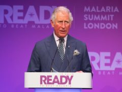 The Prince of Wales has taken over from his brother, the Duke of York, as president of Malaria No More UK (Dominic Lipinski/PA)