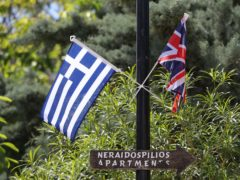 Burglars strangled a British woman at her family home in Greece (Andrew Matthews/PA)