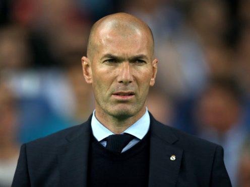Zinedine Zidane has left Real Madrid (Nick Potts/PA)