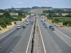 The M4 motorway near Bristol. Motorists across England and Wales are set to collectively make over £1 billion-worth of savings as new rules on whiplash claims come into force (Ben Birchall/PA)