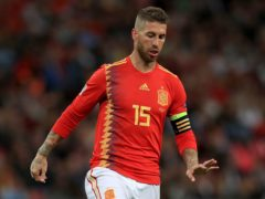 Spain skipper Sergio Ramos has not made the squad for the rescheduled Euro 2020 finals (Mike Egerton/PA)