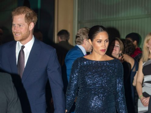 Harry spoke about an occasion when Meghan told him she was suicidal (Paul Grover/Daily Telegraph/PA)