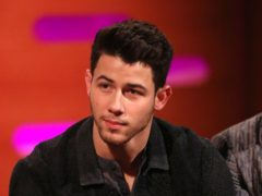 Nick Jonas revealed he injured his rib in an accident involving a bike (Isabel Infantes/PA)