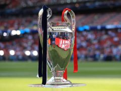 The Champions League final will be held in Portugal (Mike Egerton/PA)