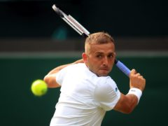 Dan Evans is looking to win his first match at Roland Garros (Adam Davy/PA)