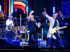 Roger Daltrey and Pete Townshend during a performance in Wembley, London (David Jensen/PA)