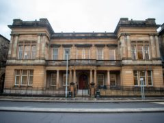 Stewart McMeekin appeared at Paisley Sheriff Court on Monday in connection with the incident (John Linton/PA)