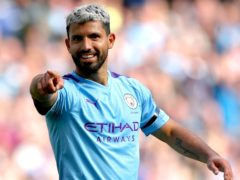 Sergio Aguero is set for one final Manchester City appearance at the Etihad Stadium (Nick Potts/PA)