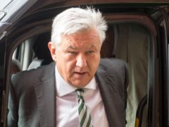 Peter Lawwell is Celtic's chief executive (Ian Rutherford/PA)