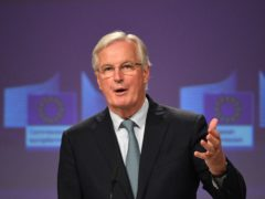 Michel Barnier has said the outcome of the Brexit negotiations was determined by Tory 'quarrels' (Stefan Rousseau/PA)
