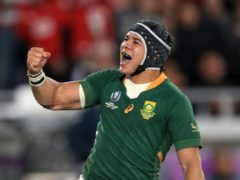 South Africa and Toulouse wing Cheslin Kolbe (Adam Davy/PA)