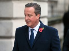 Former prime minister David Cameron is to appear before the Treasury Committee over the Greensill Capital inquiry (Jonathan Brady/PA)