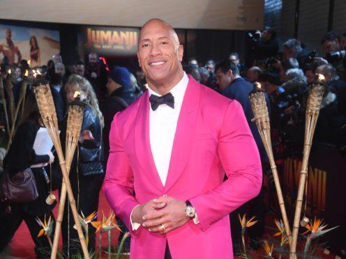 Dwayne Johnson (Matt Crossick/PA)
