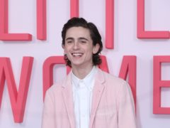 Timothee Chalamet is set to play a young Willy Wonka in an origins story about the eccentric chocolate factory owner (Isabel Infantes/PA)