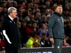 Crystal Palace manager Roy Hodgson received praise from Southampton boss Ralph Hasenhuttl ahead of their latest meeting at St Mary's (Mark Kerton/PA)