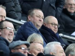Mike Ashley is still trying to sell Newcastle (Owen Humphreys/PA)