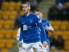 Jamie McCart vowed to brush off St Johnstone's Covid outbreak (Jeff Holmes/PA)