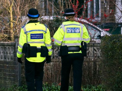 Police are appealing for witnesses (Steve Parsons/PA)