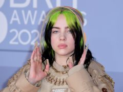 Billie Eilish says the pandemic has helped her songwriting (Ian West/PA)