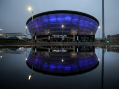 The Hydro arena is being used for vaccinations (Andrew Milligan/PA)