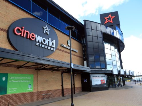 Cineworld hailed a 'strong' first weekend after reopening its UK cinemas (Mike Egerton/PA)