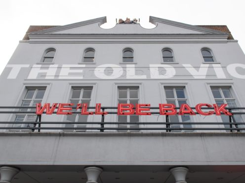 The Old Vic theatre has announced its Back Together season, a combination of streamed and live shows following months of being closed (Dominic Lipinski/PA)