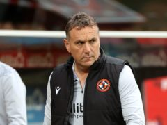 Dundee United manager Micky Mellon expects a stiffer league challenge for his team next season (Steve Welsh/PA)