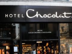 Hotel Chocolat expects trading to be ahead of previous expectations (Mike Egerton/PA)