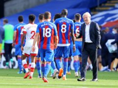 Roy Hodgson will take charge of his final home match at Crystal Palace when Arsenal visit on Wednesday (Richard Heathcote/PA)