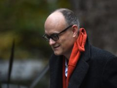 Prime Minister Boris Johnson's former top aide Dominic Cummings (Kirsty O'Connor/PA)