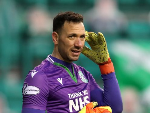 Ofir Marciano is set to return for Hibernian (Andrew Milligan/PA)
