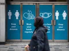 Lockdown restrictions saw the UK economy contract at the start of 2021 but the hit was smaller than first feared as growth rebounded in March, according to official figures (Andrew Matthews/PA)
