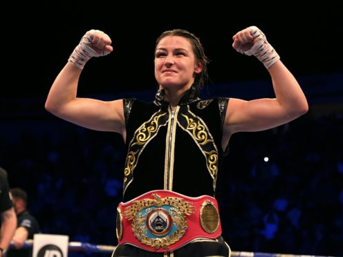 Katie Taylor battled to victory (Richard Sellers/PA)